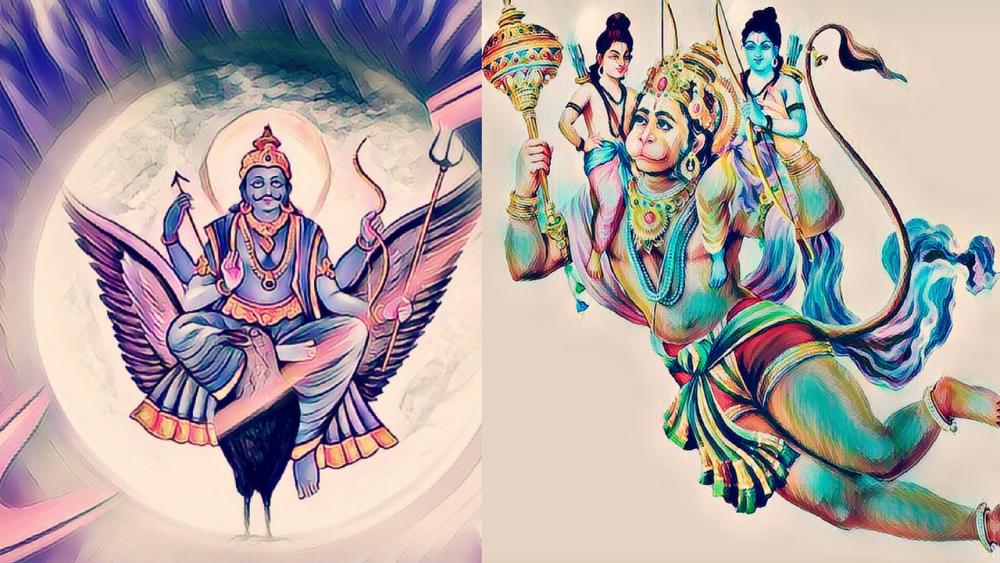 The mystery behind Lord Hanuman and Saturn(Shani Dev) - Cosmic Insights