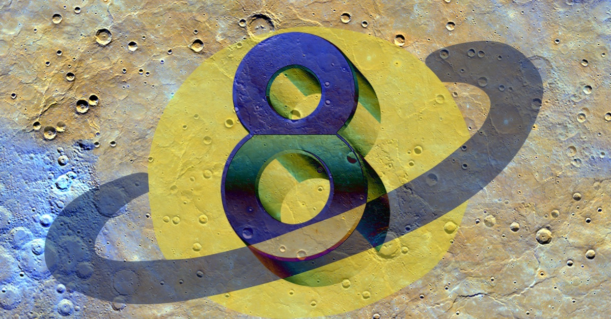 Secrets Of The Mysterious Number 8 & Saturn By Celebrity